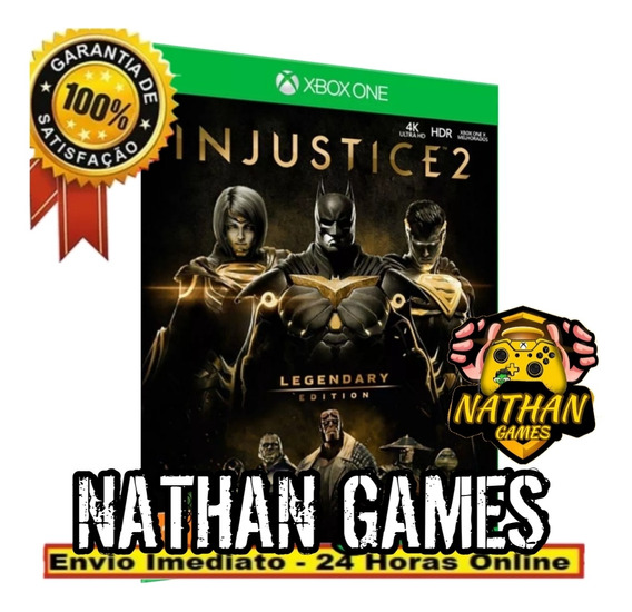 Injustice 2 Lendário Edition - Xbox One + Brinde
