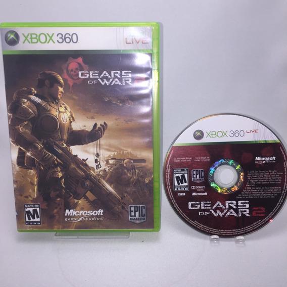 Gears Of War 2 Xbox 360 Original Mídia Física