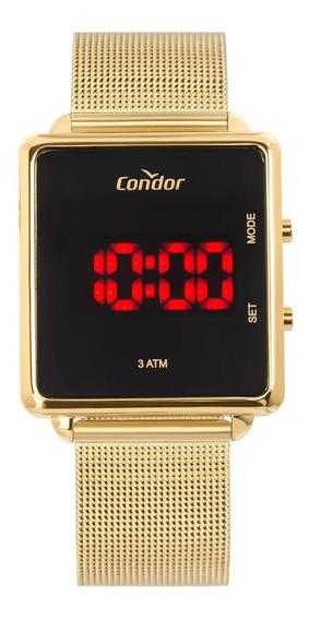 Relógio Feminino Condor Dourado Digital Cojhs31baa/4x