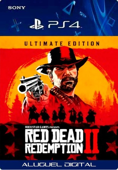 Red Dead Redemption 2 Ultimate | Ps4 User2 | Aluguel 7 Dias