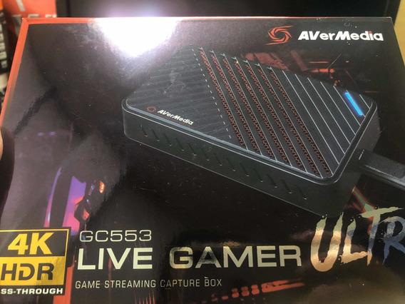 Placa De Captura Avermedia Live Gamer Ultra Gc553