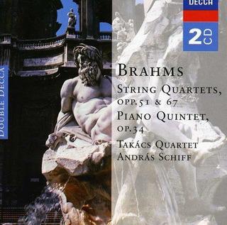 Brahms: Cuartetos De Cuerda; Quinteto Para Piano, Opp.