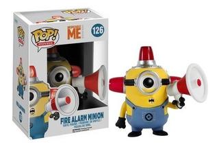 Pop Funko 126 Minion Fire Alarm Oferta!! Playking