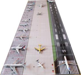 Aeroporto 1:400 170 X 55cm Base Para Boeing Airbus Douglas