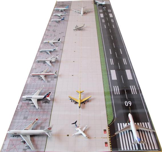 Aeroporto 1:400 170 X 55cm Base Para Boeing Airbus Miniatura