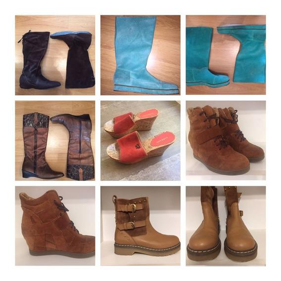 Zapatos Y Botas Talle 38 Y 39 De Desfiles Desde $ 600