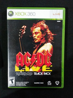 Acdc Ac/dc Live Rock Band Track Pack
