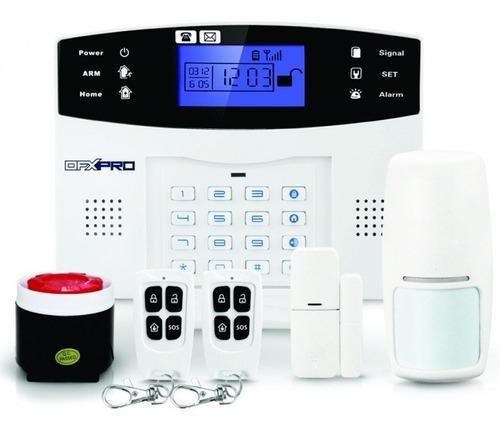 Imagen 1 de 6 de Alarma Casa Comercio Inalambrica Gsm 3g Sin Contrato Mensual