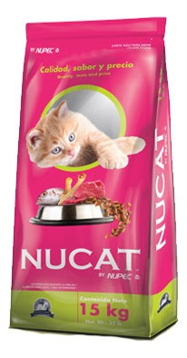 Imagen 1 de 2 de Nucat Croquetas Para Gatos 15 Kg. By Nupec