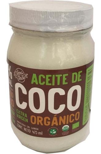 Imagen 1 de 1 de Aceite De Coco Orgánico 500ml