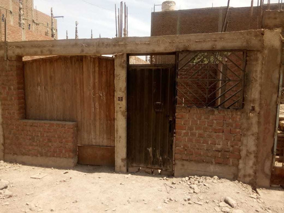 Remate: Casi Semi-construida 6 Ambientes En Carabayllo