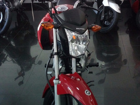 Honda Cg 150 Color Rojo En Motolandia Con Casco De Regalo !