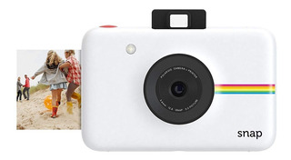 Snap Camara Polaroid Digital Instantanea Snap Blanco