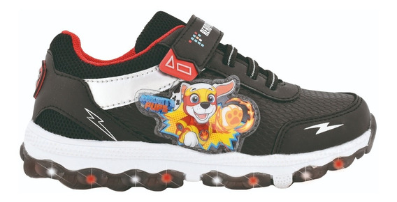 Zapatillas Footy Paw Patrol Con Luz De Niños