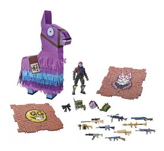Brinquedo Fortnite Lhama Pinhata Com Acessórios Sunny 2057