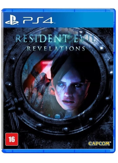Resident Evil Revelations Ps4 Novo Midia Fisica