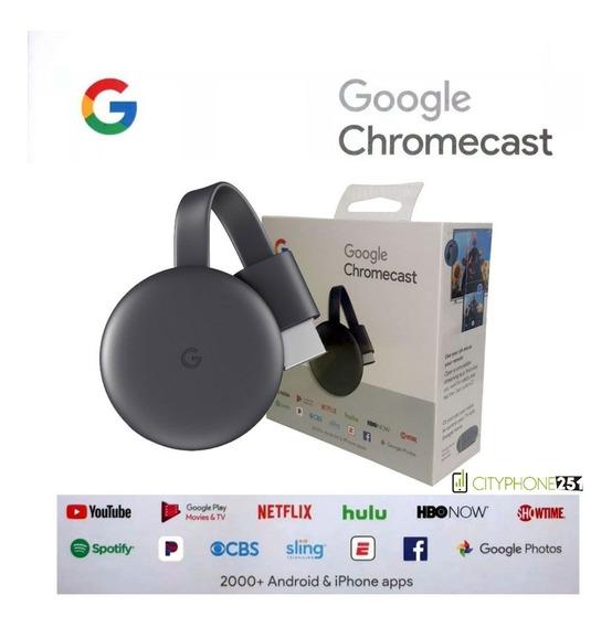 Google Chromecast 3ra Generación (somos Tienda Fisica)
