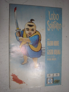 Gibi Hq Lobo Solitário Nº2 Editora Cedibra 1988 Manga Kazuo
