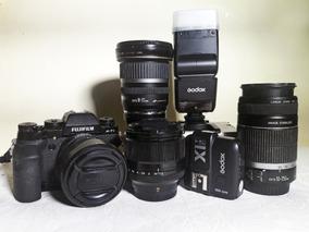Fuji Xt-1 - Objs.18-55mm - 56mm F1.2 - Flash, Radio E+lentes