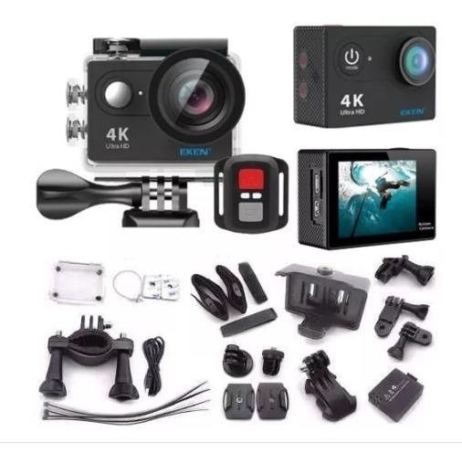 Câmera De Ação Eken H9r Com Wif E Controle Remoto