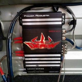 Planta De Sonido Power Acoustik 620w