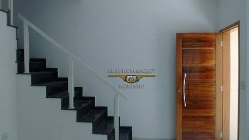 Sobrado Com 3 Dormitórios À Venda, 165 M² Por R$ 550.000,00 - Vila Formosa (zona Leste) - São Paulo/sp - So0815