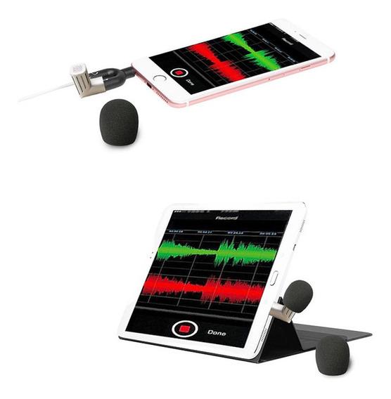 Mini Microfone Condensador Profissional Mic Gravação W / 1