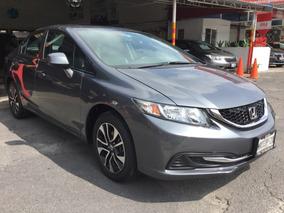 Honda Civic Ex Aut Ac 2013