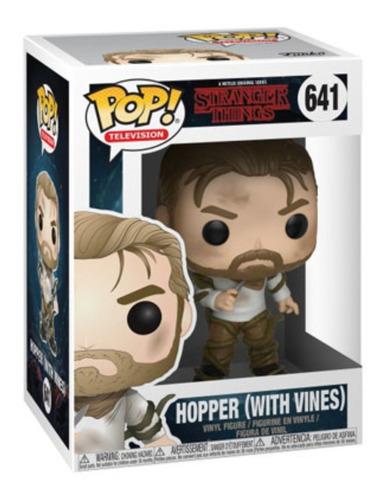 Funko Pop Stranger Things Hopper With Vines