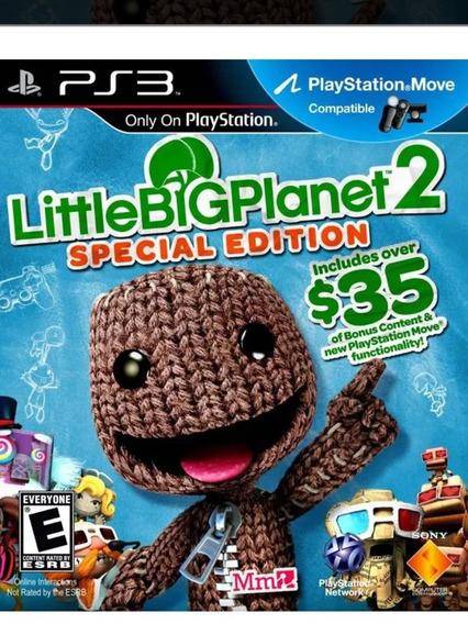 Little Big Planet, Versão Especial Special Edition Cd Fisico