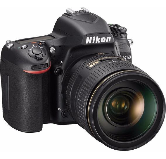 Câmera Profissional Nikon Dslr D750 Com Lente 24-120mm