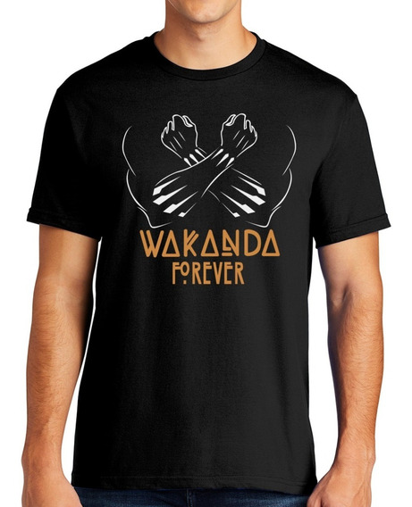 Playera Pantera Negra Wakanda Forever (diseño5) Black Panter