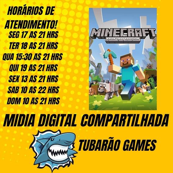 Minecraft Mídia Digital Xbox 360+leia A Descrição
