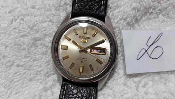 Relógio Seiko 6119, Masculino, Automático, Lindo, Anos 70 (mq) !