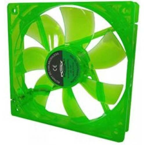 Cooler Fan 120mm Dex Dx-12l Led Cor: Verde