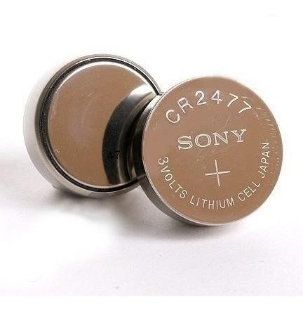 Bateria Sony Cr2477 - Pack 4 Unidades -promoção