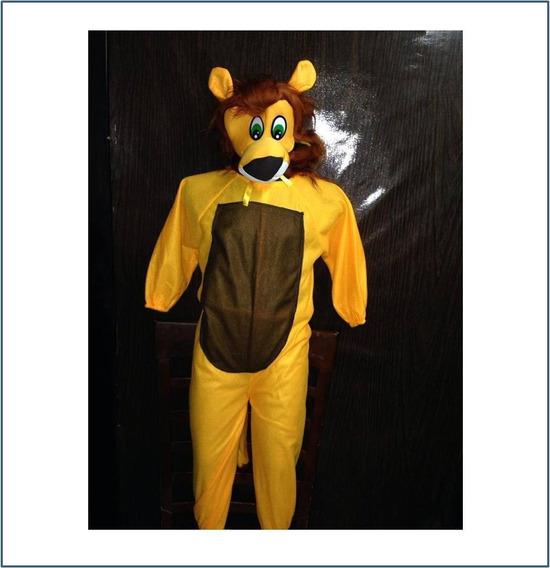 Disfraz De Leon Para Niño Talla #4 Y 10 R