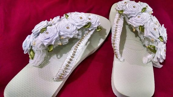 Chinelo Personalizado Da Noiva