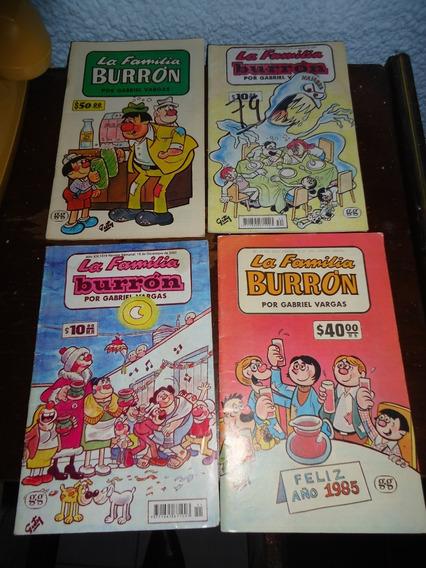 Lote De 4 Revistas De La Familia Burron