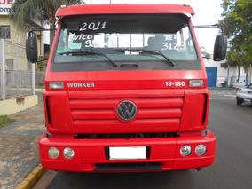 Vvolkswagen 13 180 Vermelho 2011 Itália Caminhões Ref 3129