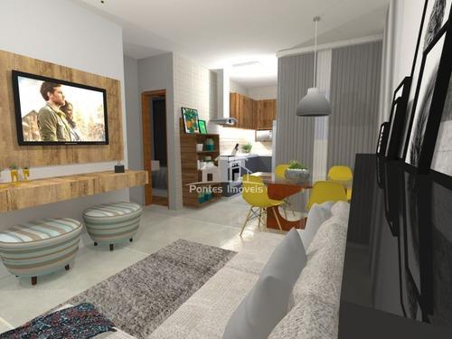 Imagem 1 de 5 de Apartamento S/cond. 56m² 2 Dorms Sendo 2 Suíte No Bairro Vila Bastos-sa- Sp - Apa2167