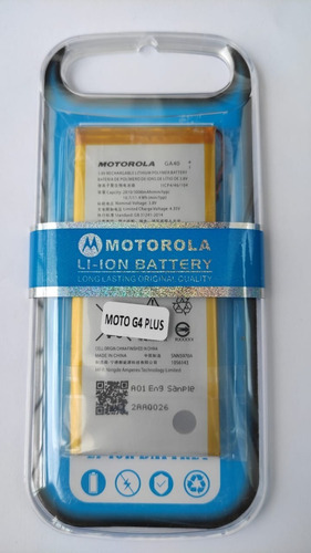 Imagen 1 de 1 de Bateria Pila Para Motorola Moto G4 / G4 Plus Ga40