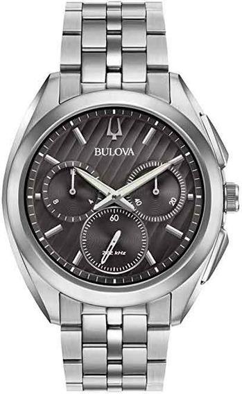 Relógio Bulova Masculino Curv Wb31890w