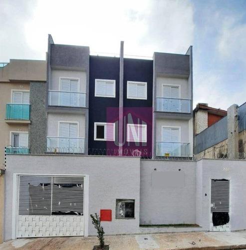 Imagem 1 de 10 de Apartamento Com 2 Dormitórios À Venda, 45 M² Por R$ 235.000,00 - Vila Príncipe De Gales - Santo André/sp - Ap1739