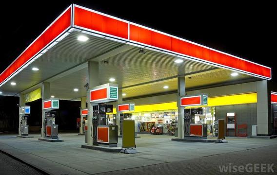Posto De Gasolina -combustivel -bandeira Branca -mg