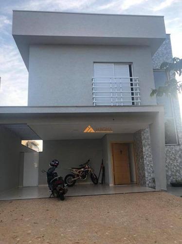 Casa Com 3 Dormitórios À Venda, 180 M² Por R$ 1.300.000,00 - Condomínio Buona Vita - Ribeirão Preto/sp - Ca2624