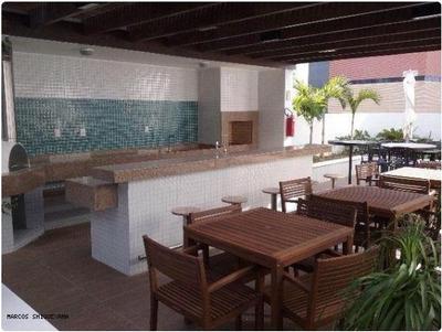 Flat Para Locação Em Salvador, Caminho Das Árvores, 1 Dormitório, 1 Banheiro, 1 Vaga - Vg1664