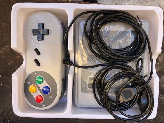 Vídeo Game Retro Super Nintendo Snes 621 Jogos