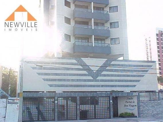 Apartamento Com 1 Quarto Para Alugar, 40 M² Por R$ 1.096/mês - Pina - Recife/pe - Ap1970