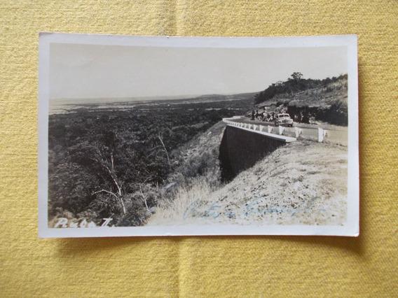 2344-postal Ruta Caacupe 1946, Asuncion- Paraguay